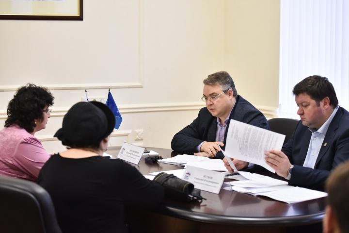 Губернатор Ставрополья Владимиров принял участие в цельном дне приёма жителей