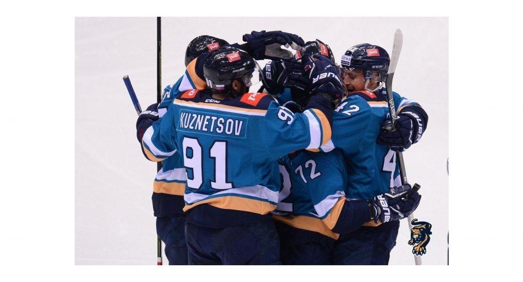 Хоккеисты «Барыса» потерпели пятое поражение подряд вКХЛ, уступив «Сочи»