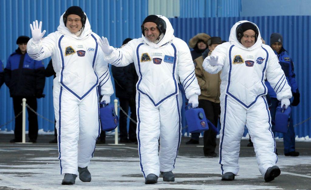 Корабль «Союз» сновым экипажем МКС удачно стартовал сБайконура— Гагаринский старт