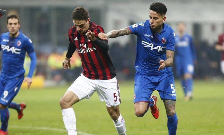 «Милан» переиграл «Болонью», одержав первую победу под управлением Гаттузо