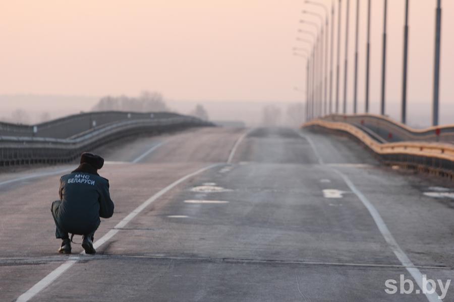 Мост над Припятью мог треснуть из-за дефектов вконструкции— Калинин