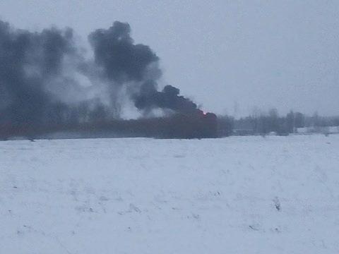 Небо под Киевом почернело: вспыхнул масштабный пожар
