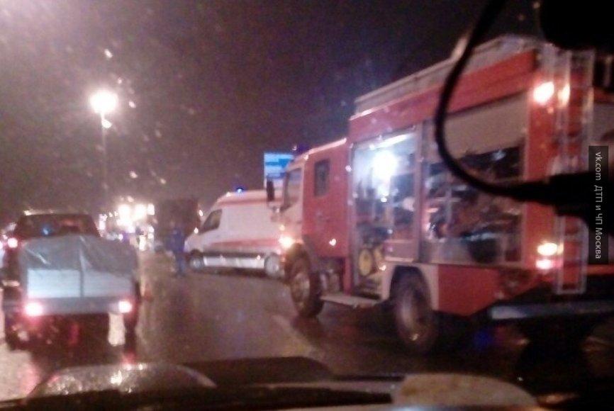 Неизвестный насмерть сбил пешехода наюге столицы и исчез