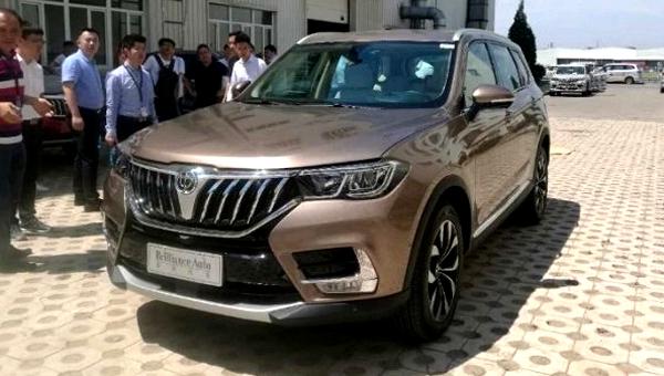 Новый джип Brilliance представят на автомобильном салоне вПекине