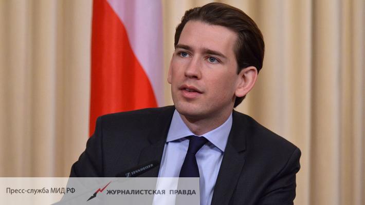 Новое руководство Австрии захотело отмены санкций против РФ
