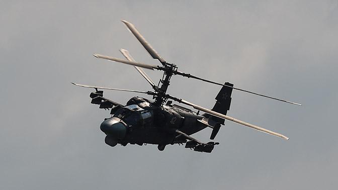 Партия вертолётов Ка-52 «Аллигатор» переброшена нааэродром под Псковом