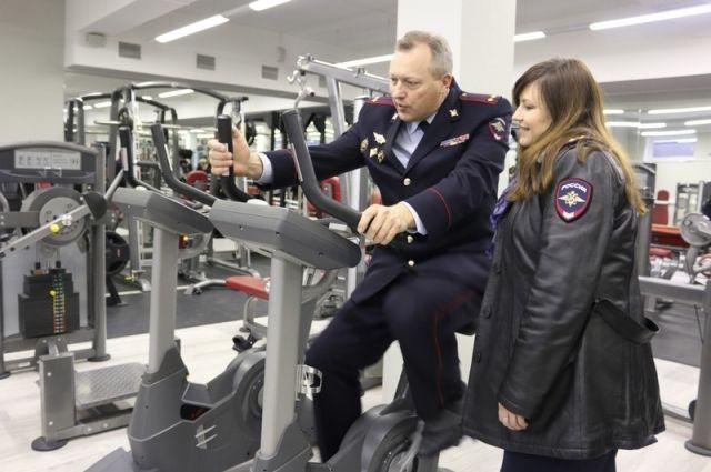 ВСтаврополе открылся новый спортивный учебно-тренировочный центр краевой милиции
