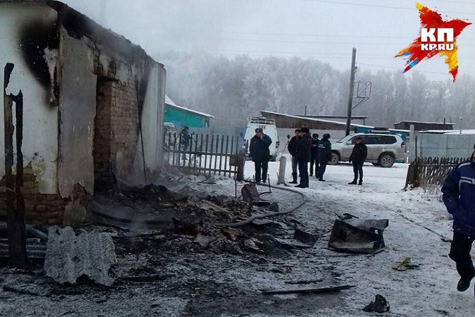 Пятеро детей погибли впожаре