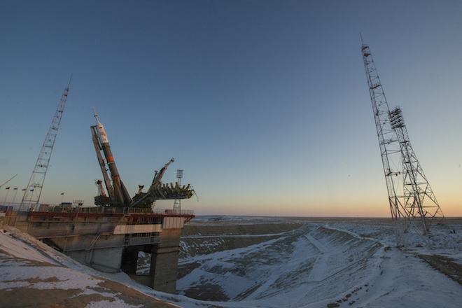 Корабль «Союз» сновым экипажем МКС благополучно стартовал сБайконура— Гагаринский старт