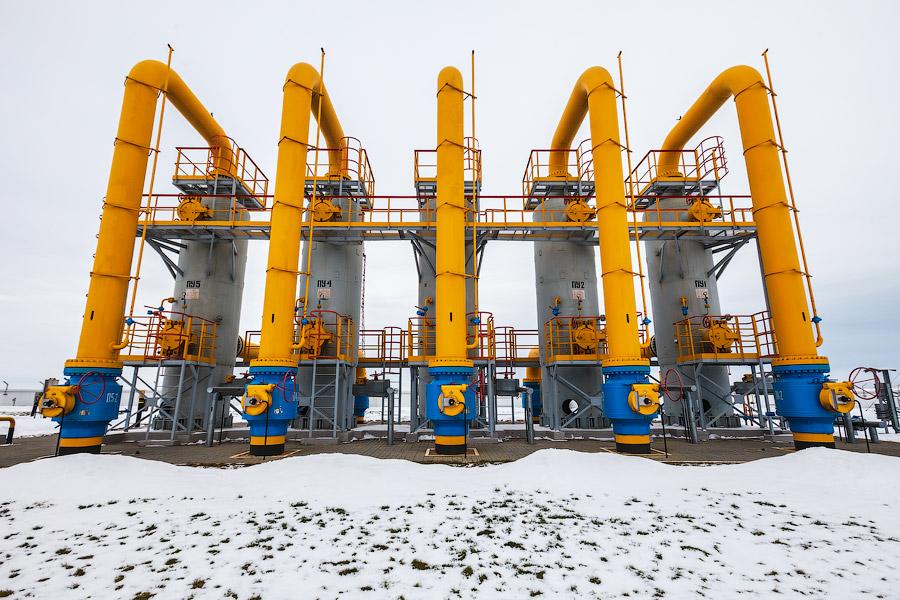 Украина уменьшила запасы газа вПХГ до15,47 млрд кубів