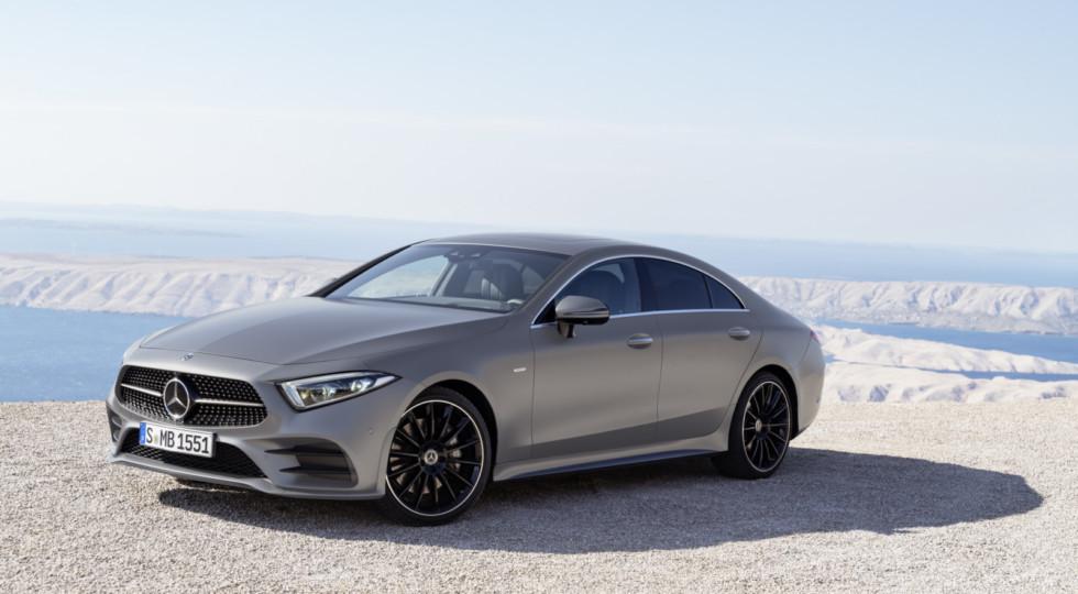 В РФ едет новый Mercedes CLS