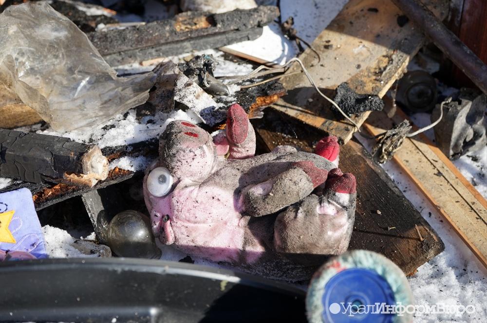 ВСвердловской области врезультате пожара погибли отец иего трое детей