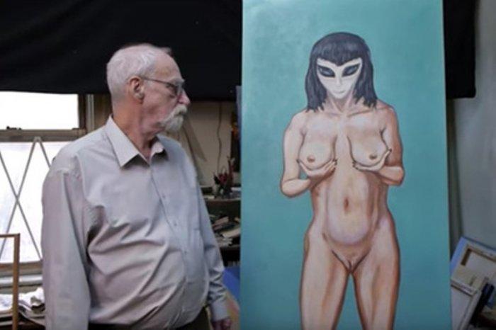 Житель америки заявляет, что унего был контакт с«инопланетной соблазнительницей»