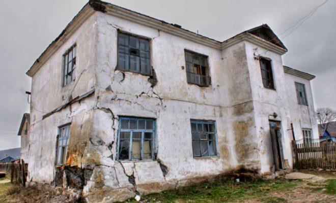 В Калуге 130 аварийных домов подлежат сносу