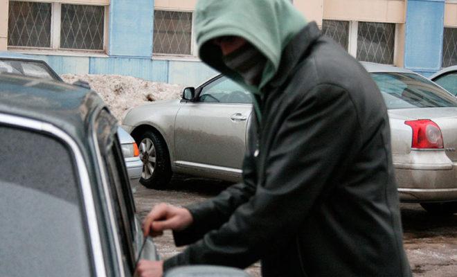 Двух молодых людей задержали за кражу из авто