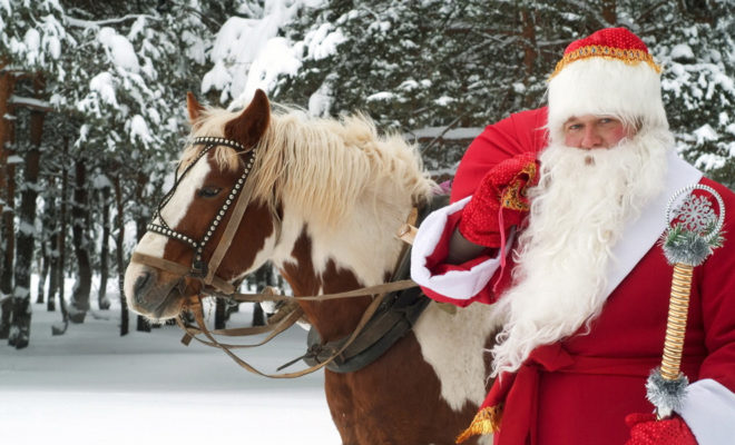 В субботу в Калугу прибудет Дед Мороз