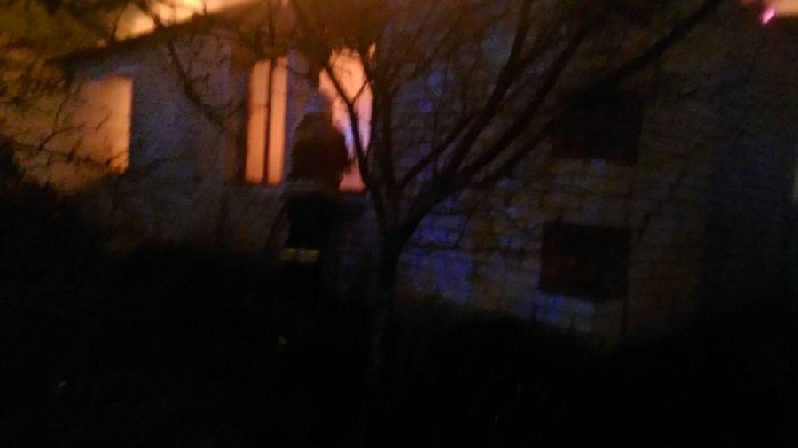 В Григоровке сгорел дом
