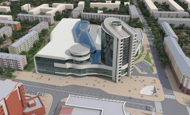 Новый Дворец спорта в Калуге обещают открыть через три года