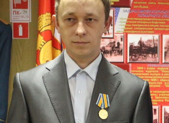 Энергетик получил медаль МЧС России за спасение утопающего