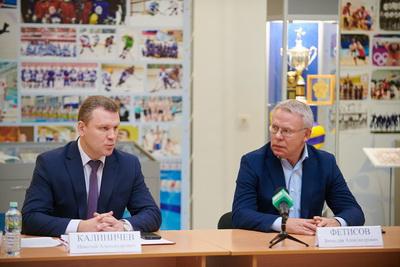 Вячеслав Фетисов включился в поддержку кинопроекта «Ильинский рубеж»