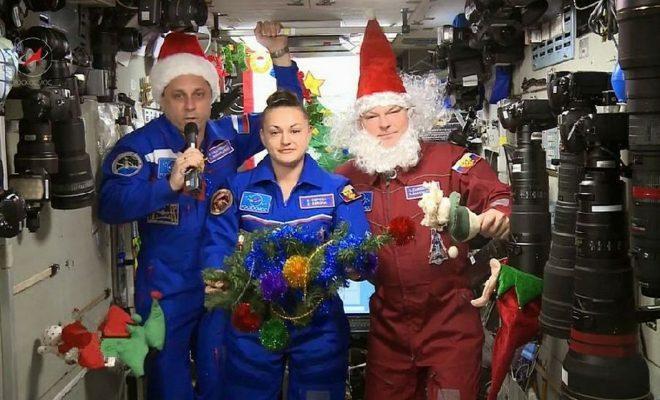 Калужанам представят новогодние костюмы космонавтов