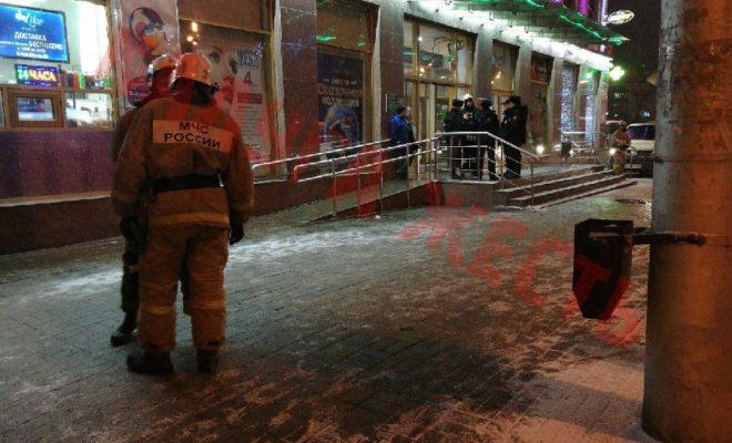 В Калуге вновь массово эвакуируют граждан