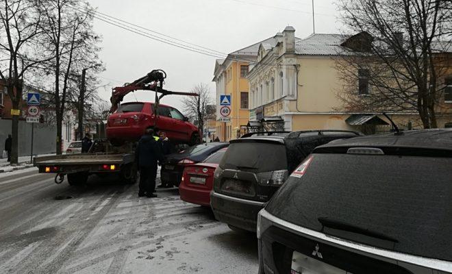 Полторы тысячи калужан оштрафованы за парковку на местах для инвалидов