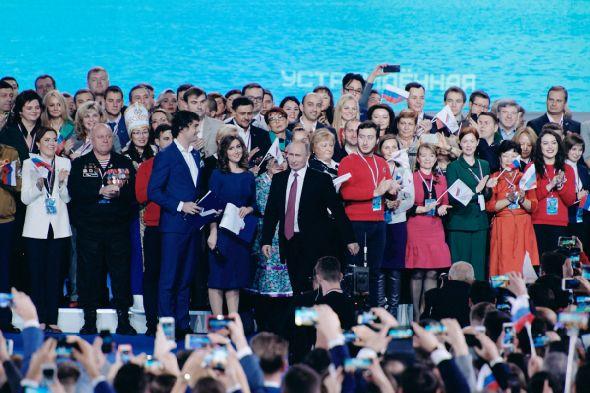 Калужские активисты встретились с Владимиром Путиным на «Форуме действий» ОНФ
