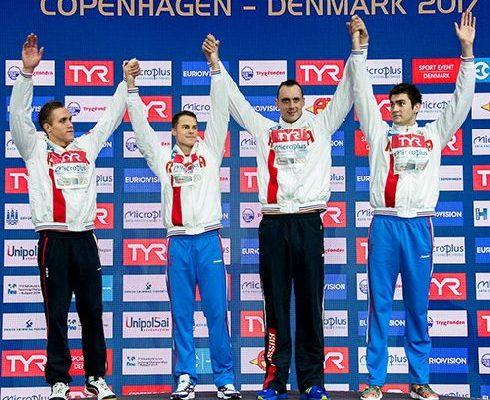 Обнинские пловцы завоевали «золото» в составе сборной