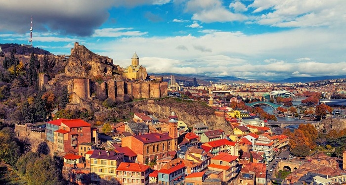 Турпоток изРФвГрузию вырос на33%
