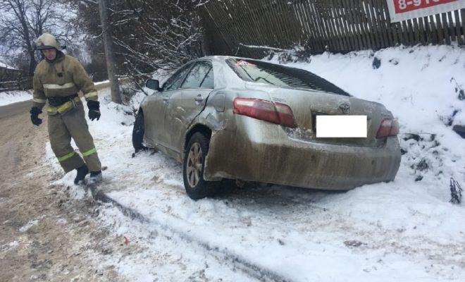 На Ждамировской столкнулись три машины