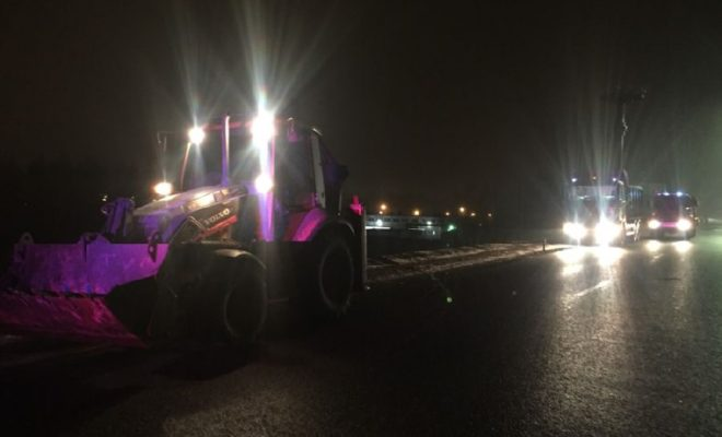 Трактор сбил пешехода