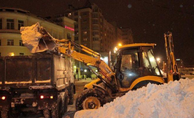 Калужан просят не оставлять на ночь авто на обочинах дорог
