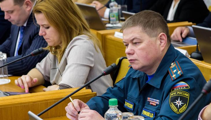 Правительство региона обсудило вопросы пожарной безопасности в новогодние праздники