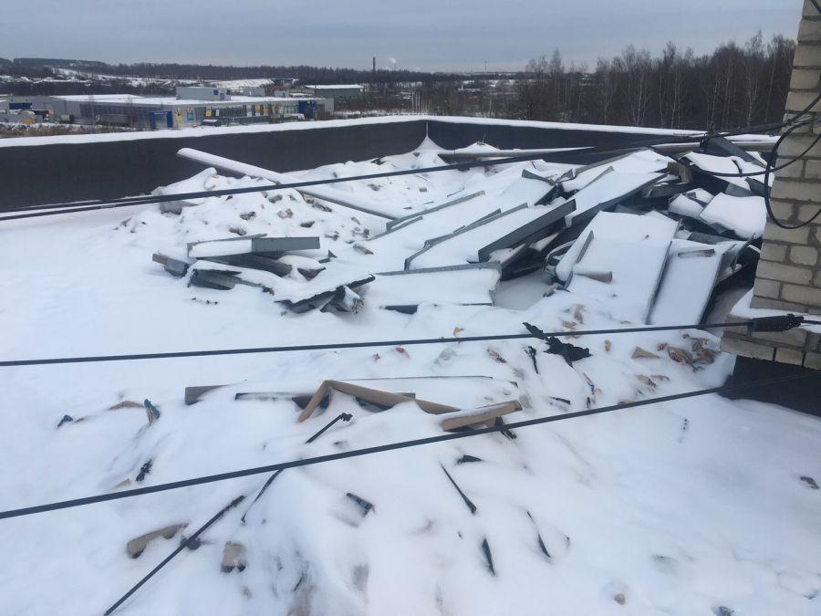 Капитальный ремонт крыши превратился для жителей в пытку