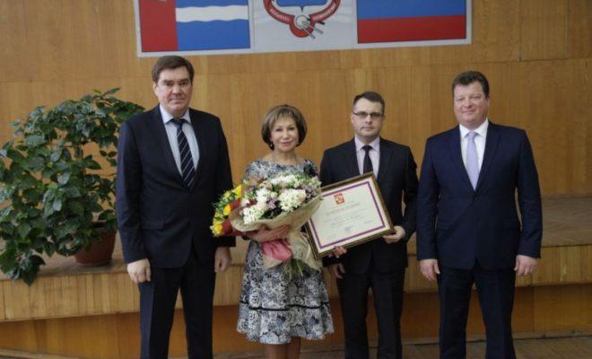 Руководитель управления соцзащиты Калуги удостоена грамоты Президента России